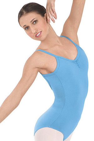 Eurotard 10527 Pinch-Front Camisole Leotard