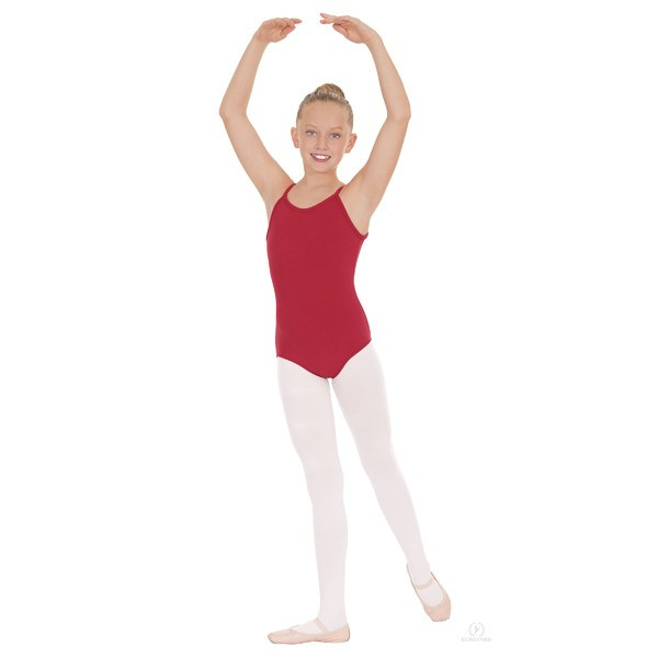 Eurotard 10527C Pinch-Front Camisole Leotard - Childred front