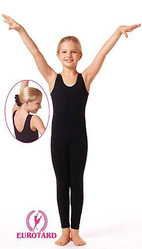 Eurotard Child Tank Unitard Black