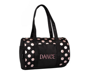 Horizon Dance Dots Duffel Bag Rose Gold