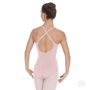 Eurotard 10819 Womens Adjustable Strap Camisole Leotard with Cotton Lycra