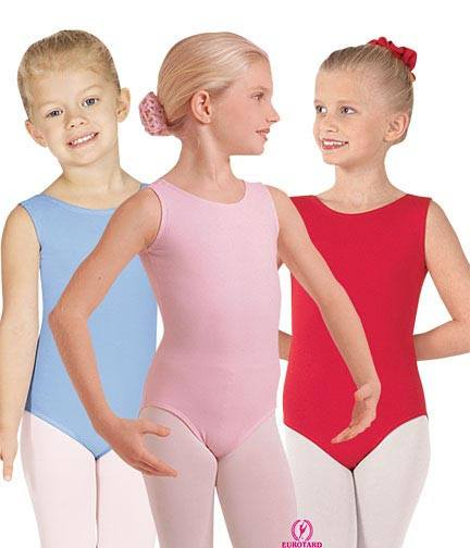 Eurotard 1089 Cotton Tank Leotard - Child