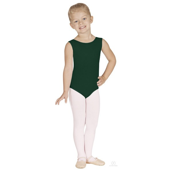 Eurotard 1089 Cotton Tank Leotard - Child hunter