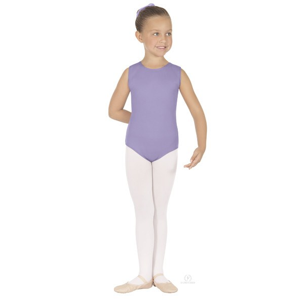 Eurotard 1089 Cotton Tank Leotard - Child lilac