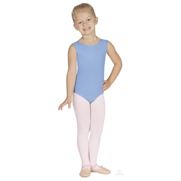 Eurotard 1089 Cotton Tank Leotard - Child light blue