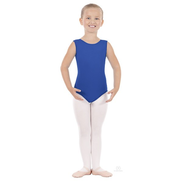 Eurotard 1089 Cotton Tank Leotard - Child royal