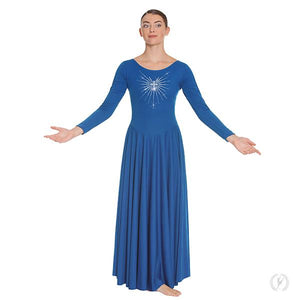 Radiant Cross Praise Dress