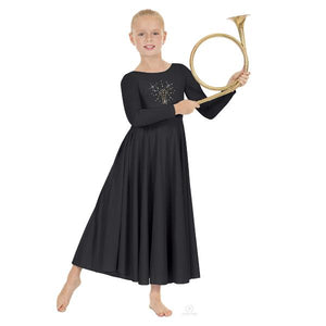 Eurotard 11524C Child Shining Cross Praise Dress