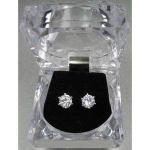 Dasha Cubic Zirconia Earrings - Large