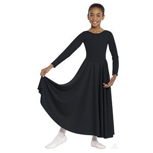 Eurotard 13524C Polyester Dance Dress black