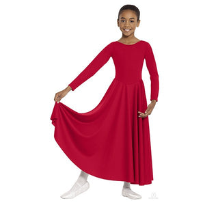 Eurotard 13524C Polyester Dance Dress red