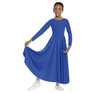Polyester Dance Dress Dark Blue