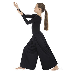 Eurotard 13696c Palazzo Pants- Child black