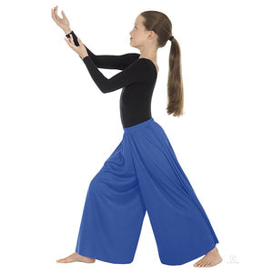 Eurotard 13696c Palazzo Pants- Child royal