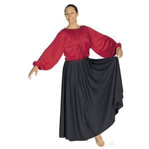 Eurotard 13778 Lyrical Circle Skirt - Adult