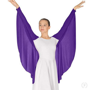 Eurotard 13800 Womens Polyester Angel Wing Praise Shrug