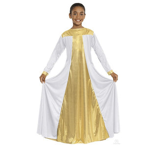Eurotard 14820C Resurrection Dress - Child white