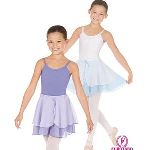Eurotard Child Two Tier Chiffon Pull on Skirt