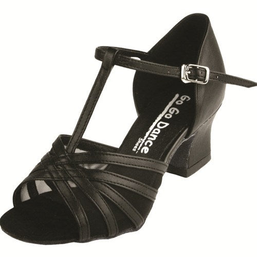 "GOGO Double Cross Strap Heel - 1.8"" Heel"
