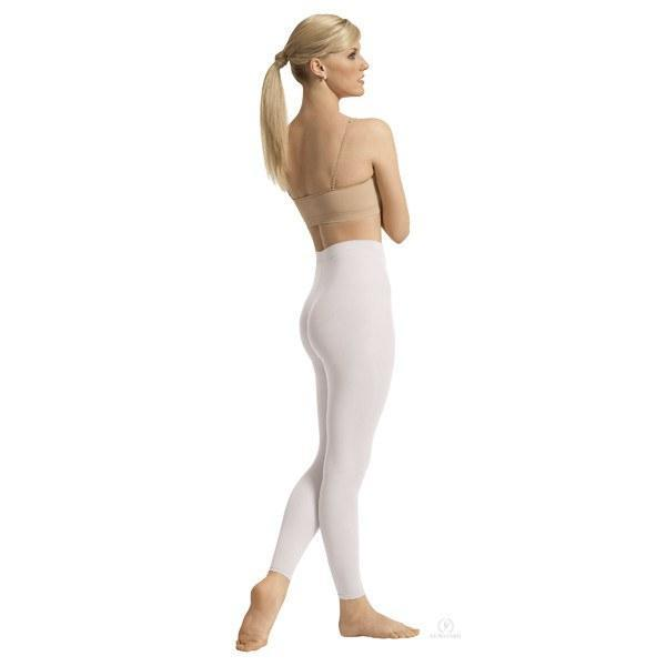 Eurotard 212 Adult Footless Tights white