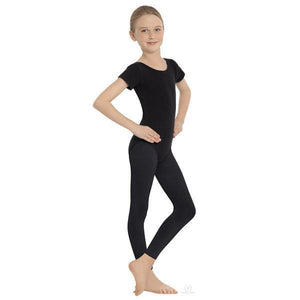 Child Footless Tights Black