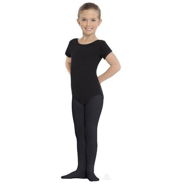 Eurotard 215C Footed Tights - Child black