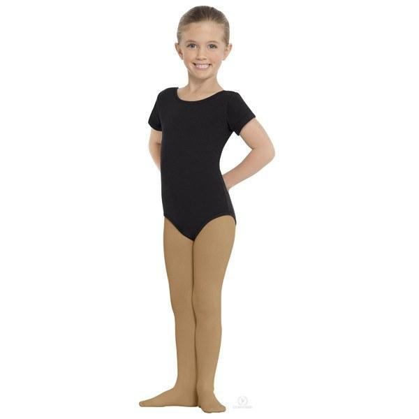 Eurotard 215C Footed Tights - Child caramel