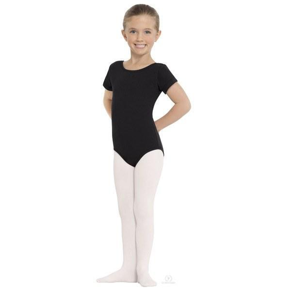 Eurotard 215C Footed Tights - Child white