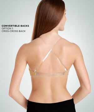 Bodywrappers 287 Padded Bra back view