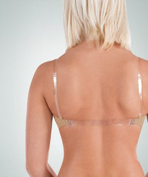 Bodywrappers 292 Versatile Bandeau Padded Bra back view