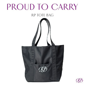 Russian Pointe Tote Bag - Black