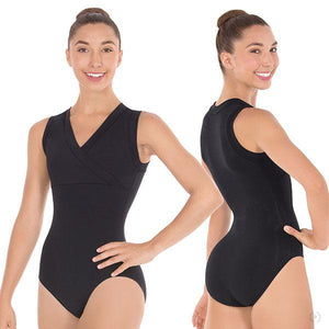 Eurotard 33794 Haley Wrap Front Tank Leotard - Adult