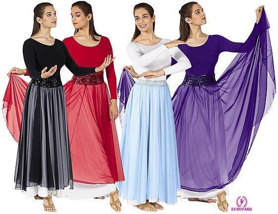 Eurotard 39746A Single Overlay Skirt - Adult