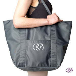 Russian Pointe Tote Bag - Grey