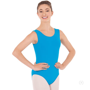 Eurotard 4402 Microfiber Leotard with Fully Lined Front - Adult