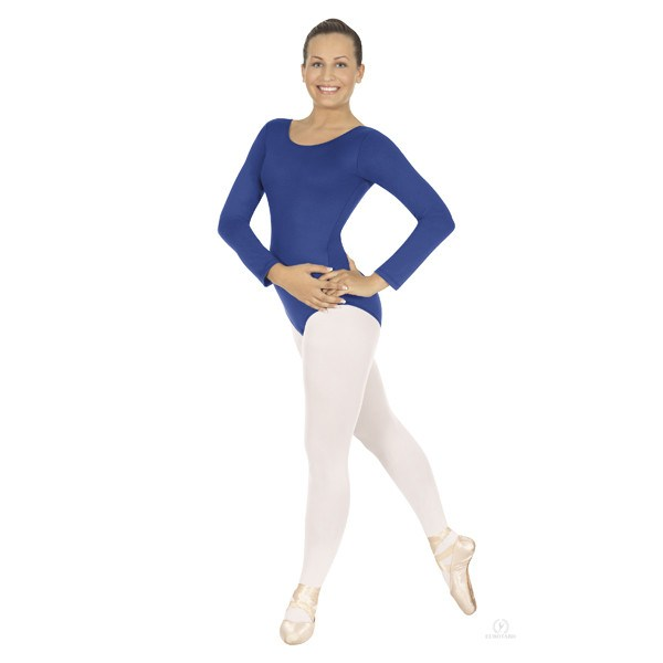 Eurotard 44265 Long Sleeve Microfiber Leotard royal