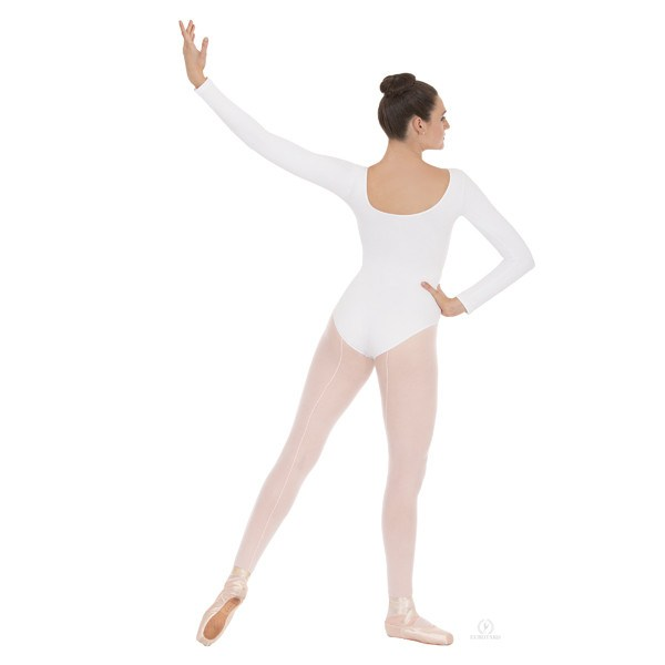 Eurotard 44265 Long Sleeve Microfiber Leotard - Adult