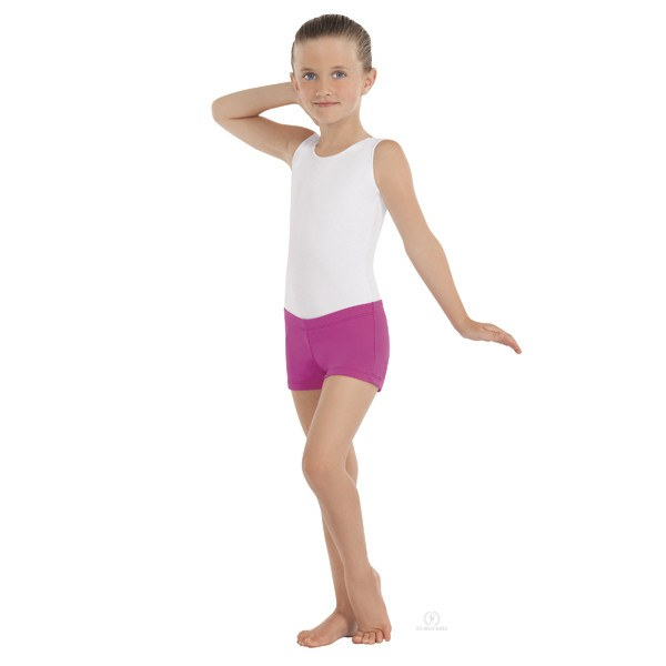 Eurotard 44335C Microfiber Booty Shorts - Child