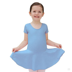 Eurotard 44464C Short Sleeve Dance Dress - Child