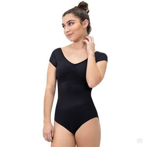 Eurotard 44525 Adult Cap Sleeve Low Back Leotard
