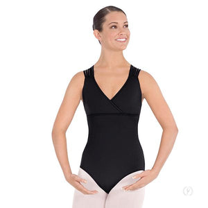 4493 - Eurotard Womens Lattice Back Leotard