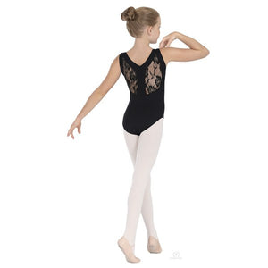 Eurotard 45879C Lace Tank Leotard - Child back black