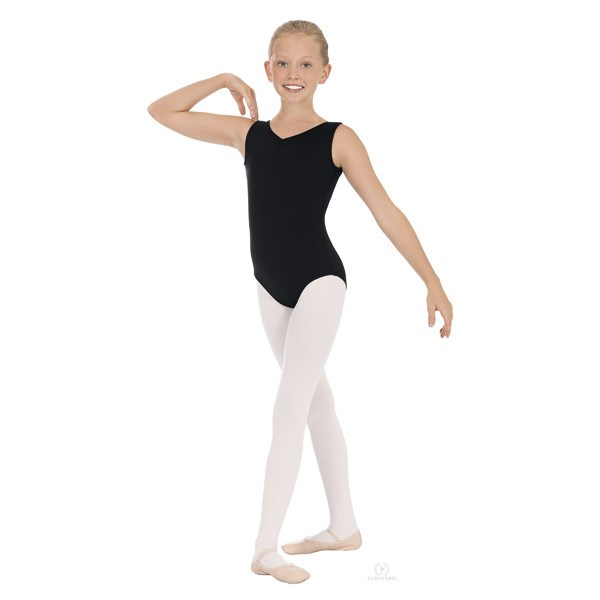 Eurotard 45879C Lace Tank Leotard - Child front