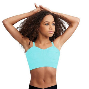 Capezio TB2131C/TB213W Tropical Bralette Top - Blowout