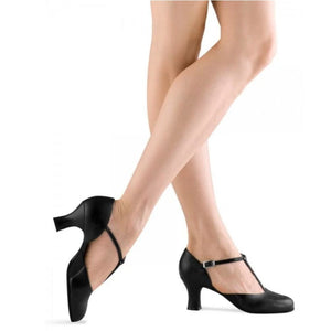 "Bloch S0390L Splitflex 2.5"" Heel Character Shoes"