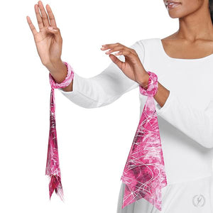 Eurotard Jewel Collection Worship Wrist Scarves