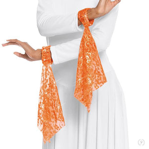 Eurotard Heavenly Lace Wrist Scarves