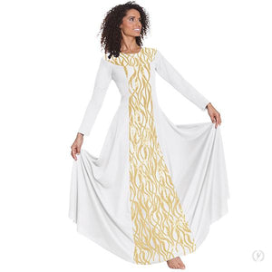 Passion of Faith Long Sleeve Praise Dress