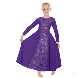 Girls Passion of Faith Long Sleeve Praise Dress