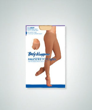 Body Wrappers Adult A34 Low Rise Convertible Tights